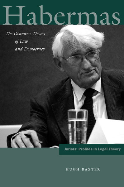 Cover of Habermas by Hugh Baxter