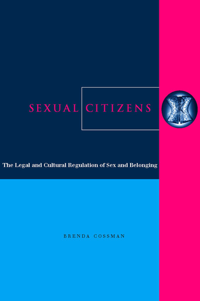 Cover of Sexual Citizens by Brenda Cossman