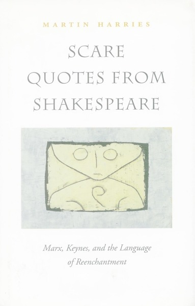 Cover of Scare Quotes from Shakespeare by Martin Harries