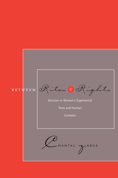 Cover of Between Rites and Rights by Chantal Zabus