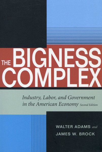 Cover of The Bigness Complex by Walter Adams and James W. Brock