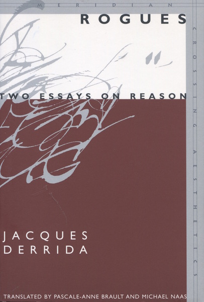 Cover of Rogues by Jacques Derrida