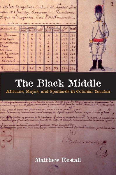 Cover of The Black Middle by Matthew Restall