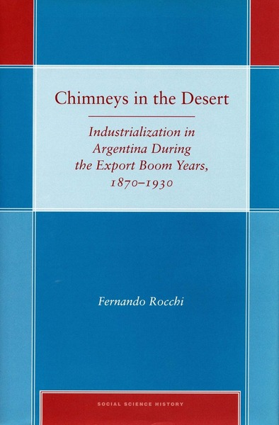 Cover of Chimneys in the Desert by Fernando Rocchi