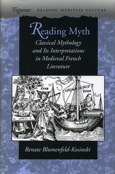 Cover of Reading Myth by Renate  Blumenfeld-Kosinski