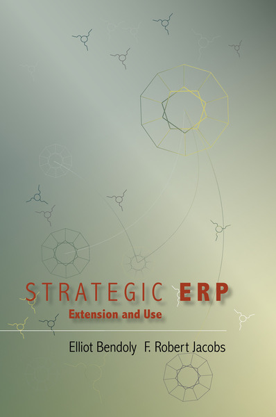 Cover of Strategic ERP Extension and Use by Edited by Elliot Bendoly and F. Robert Jacobs