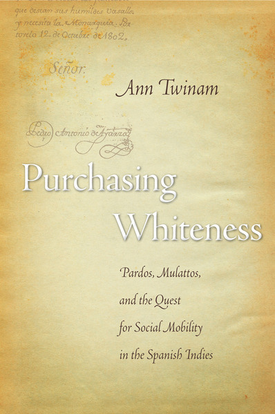 Cover of Purchasing Whiteness by Ann Twinam