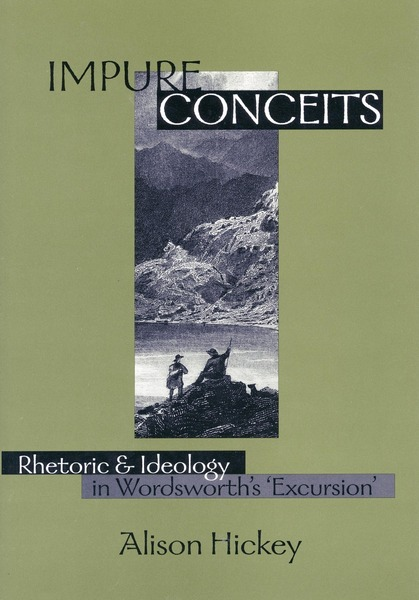 Cover of Impure Conceits by Alison  Hickey