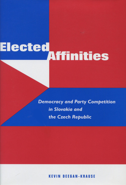 Cover of Elected Affinities by Kevin Deegan-Krause