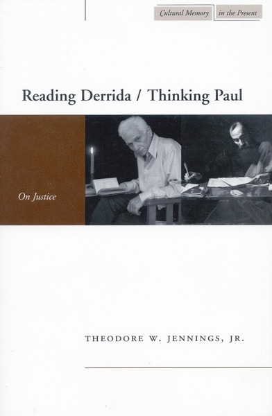Cover of Reading Derrida / Thinking Paul by Theodore W. Jennings, Jr.