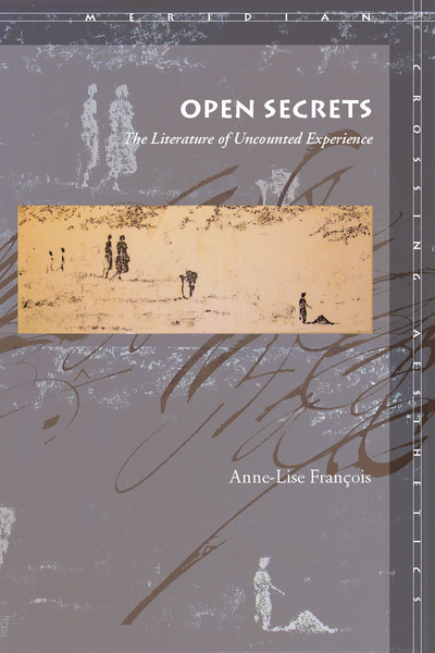 Cover of Open Secrets by Anne-Lise François