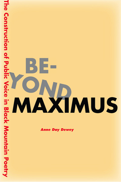 Cover of Beyond Maximus by Anne Day Dewey