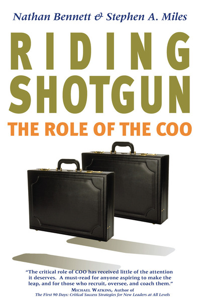 Cover of Riding Shotgun by Nathan Bennett and Stephen A. Miles