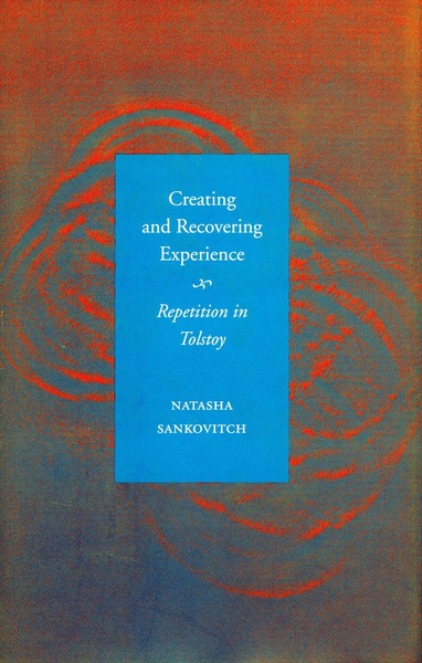 Cover of Creating and Recovering Experience by Natasha Sankovitch