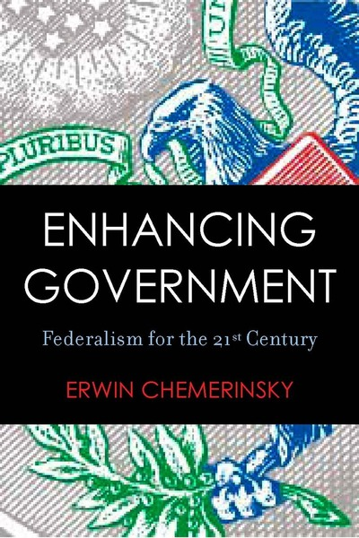Cover of Enhancing Government by Erwin Chemerinsky