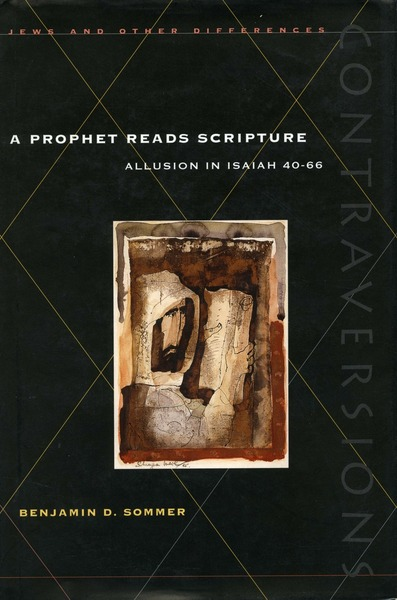 Cover of A Prophet Reads Scripture by Benjamin D. Sommer