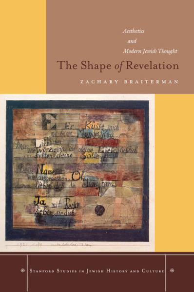 Cover of The Shape of Revelation by Zachary Braiterman