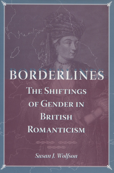 Cover of Borderlines by Susan J. Wolfson