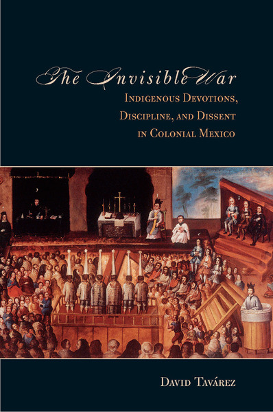 Cover of The Invisible War by David Tavárez