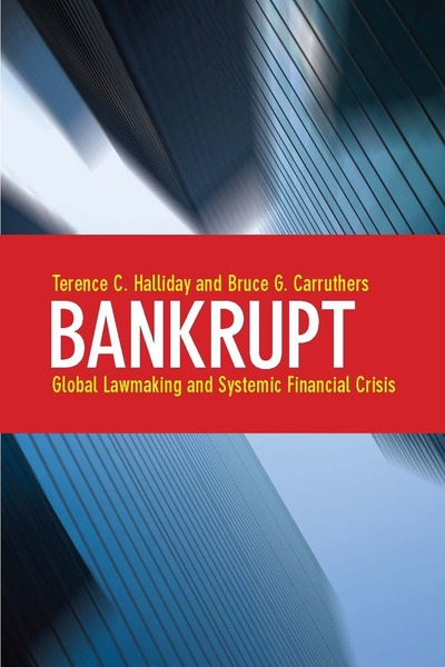 Cover of Bankrupt by Terence C. Halliday and Bruce G. Carruthers