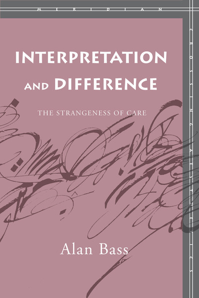 Cover of Interpretation and Difference by Alan Bass
