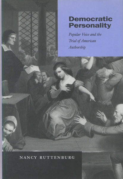 Cover of Democratic Personality by Nancy Ruttenburg