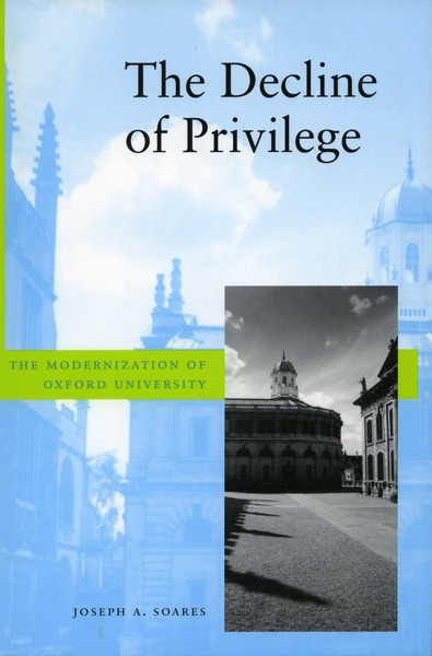 Cover of The Decline of Privilege by Joseph A. Soares