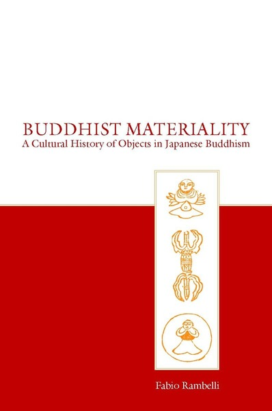 Cover of Buddhist Materiality by Fabio Rambelli