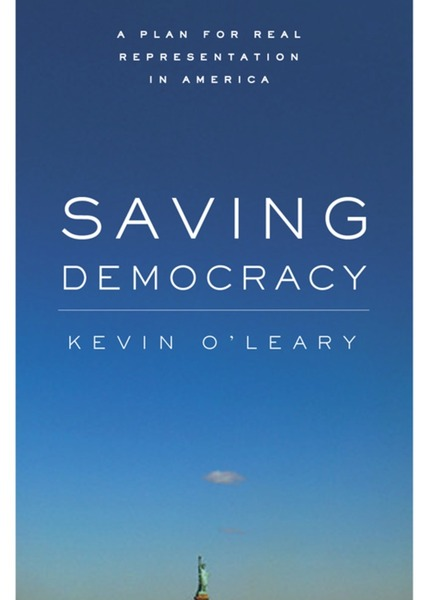 Cover of Saving Democracy by Kevin O