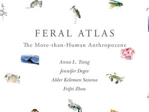 cover for Feral Atlas: The More-Than-Human Anthropocene | Edited by Anna L. Tsing, Jennifer Deger, Alder Saxena Keleman and Feifei Zhou